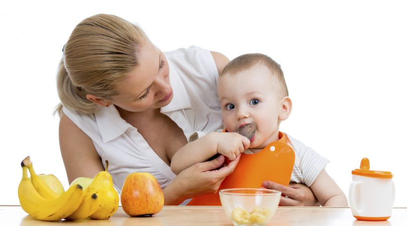 When to feed solid food to baby ?