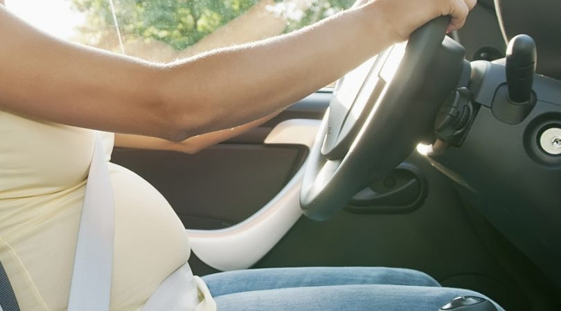 Safe to travel by car during first trimester of pregnancy?