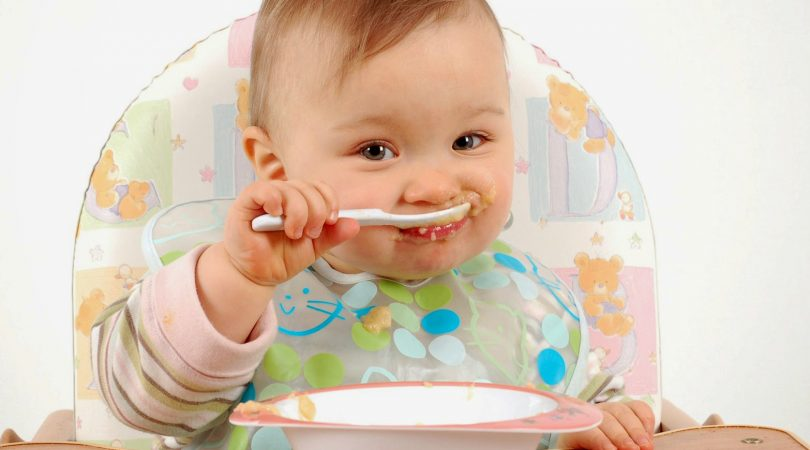 Tips to make 8 months baby eat.