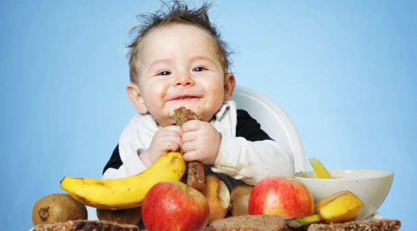 What is recommended 6 month baby diet?