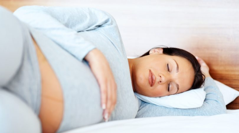 Pregnancy Sleeping Posture