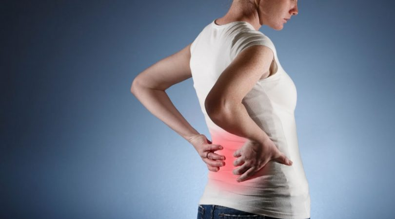 Back pain while waking up