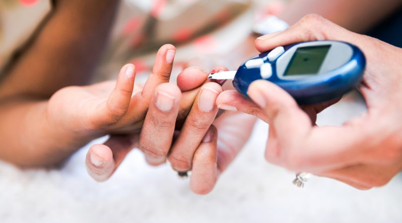 Having uncontrolled fasting diabetes.