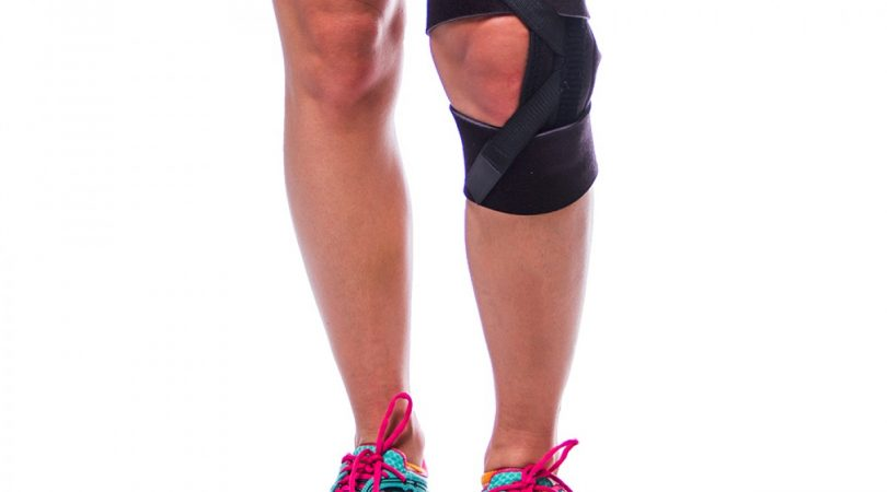Severe knee pain reduces after wearing knee caps.