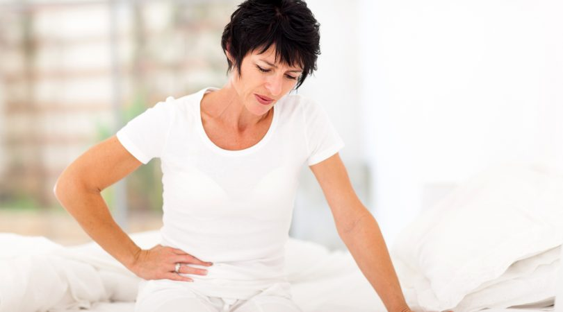 Having stomach pain during periods