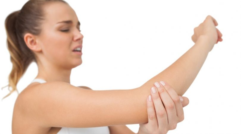 Having arm and shoulder pain