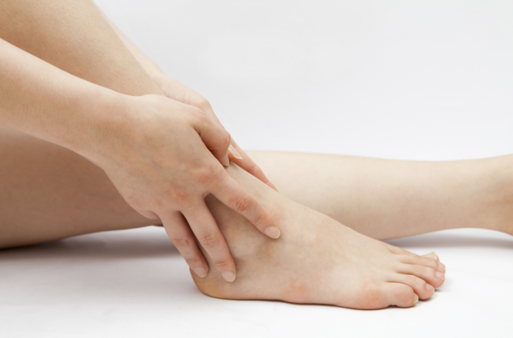 pain in ankle