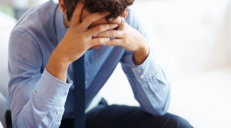 Erection leads to stress and anxiety.