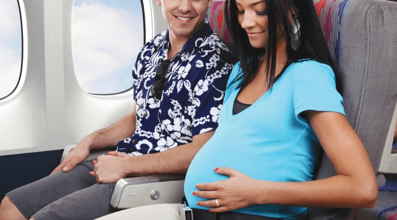 Traveling during pregnancy.