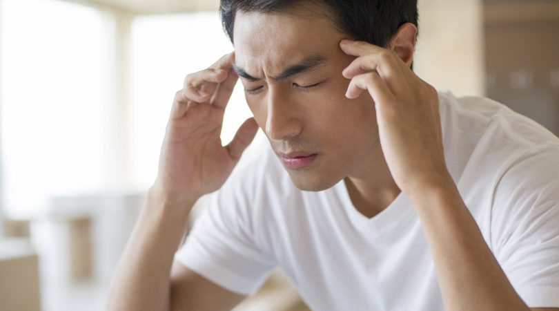 Having headache after ejaculation