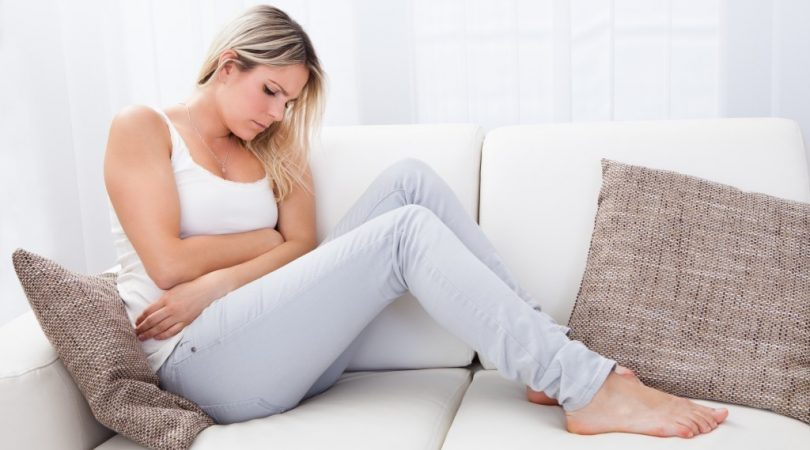 Burning sensation due to urinary tract infection in pregnancy.