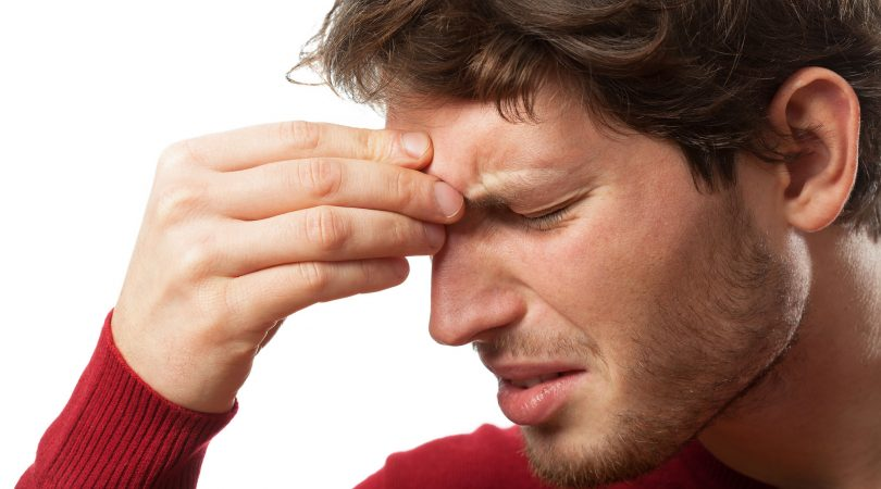 Headache after sinuses medication.